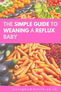 Guide to Weaning a Baby with Reflux