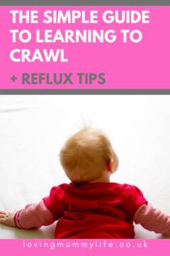 Learning to crawl with reflux