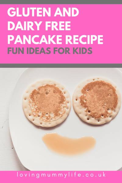 Gluten and dairy free pancakes
