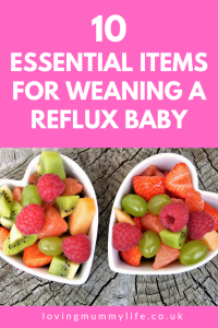 Weaning with reflux