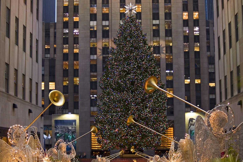 Nyc Christmas Tree Lighting 2019.2018 Rockefeller Center Tree Lighting Nyc November 28