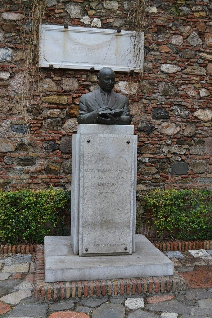 Juan Temboury Alvarez Statue in Malaga