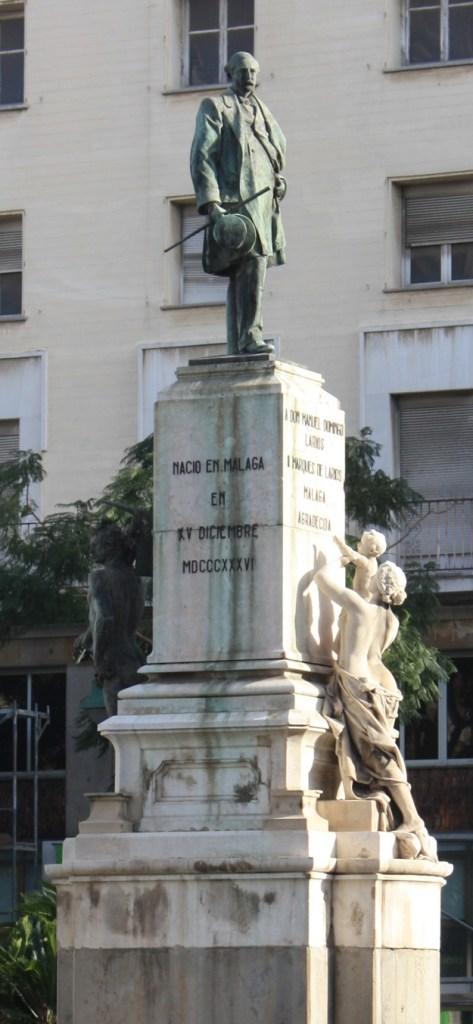 Larios Monument in Malaga