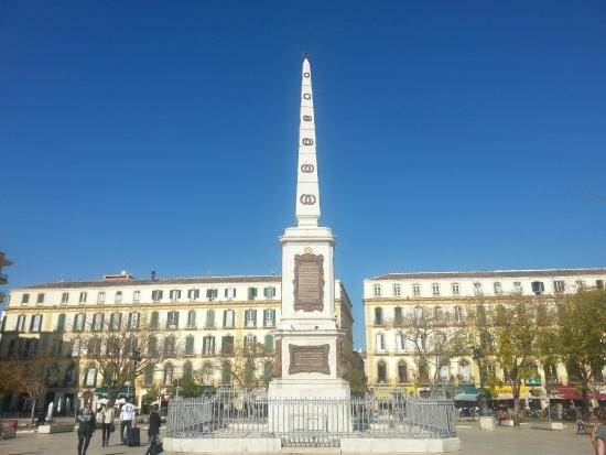Monumento a Torrijos in Malaga