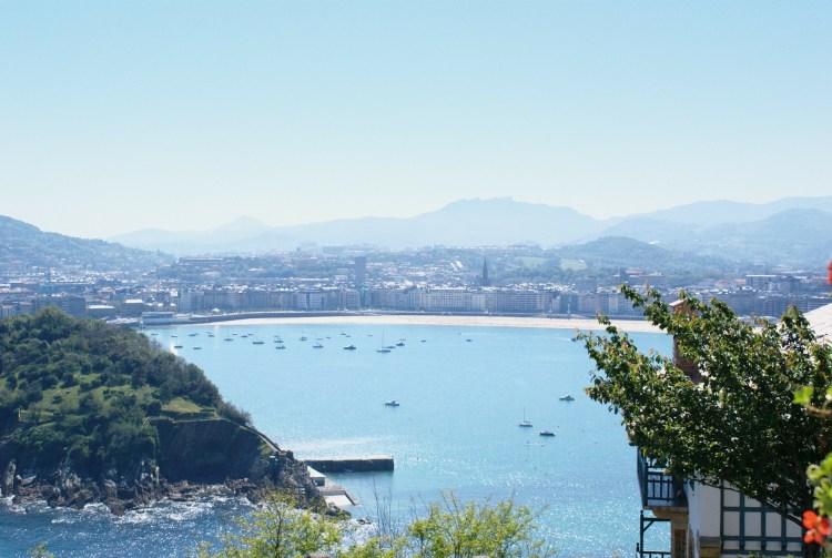 view of San Sebastian