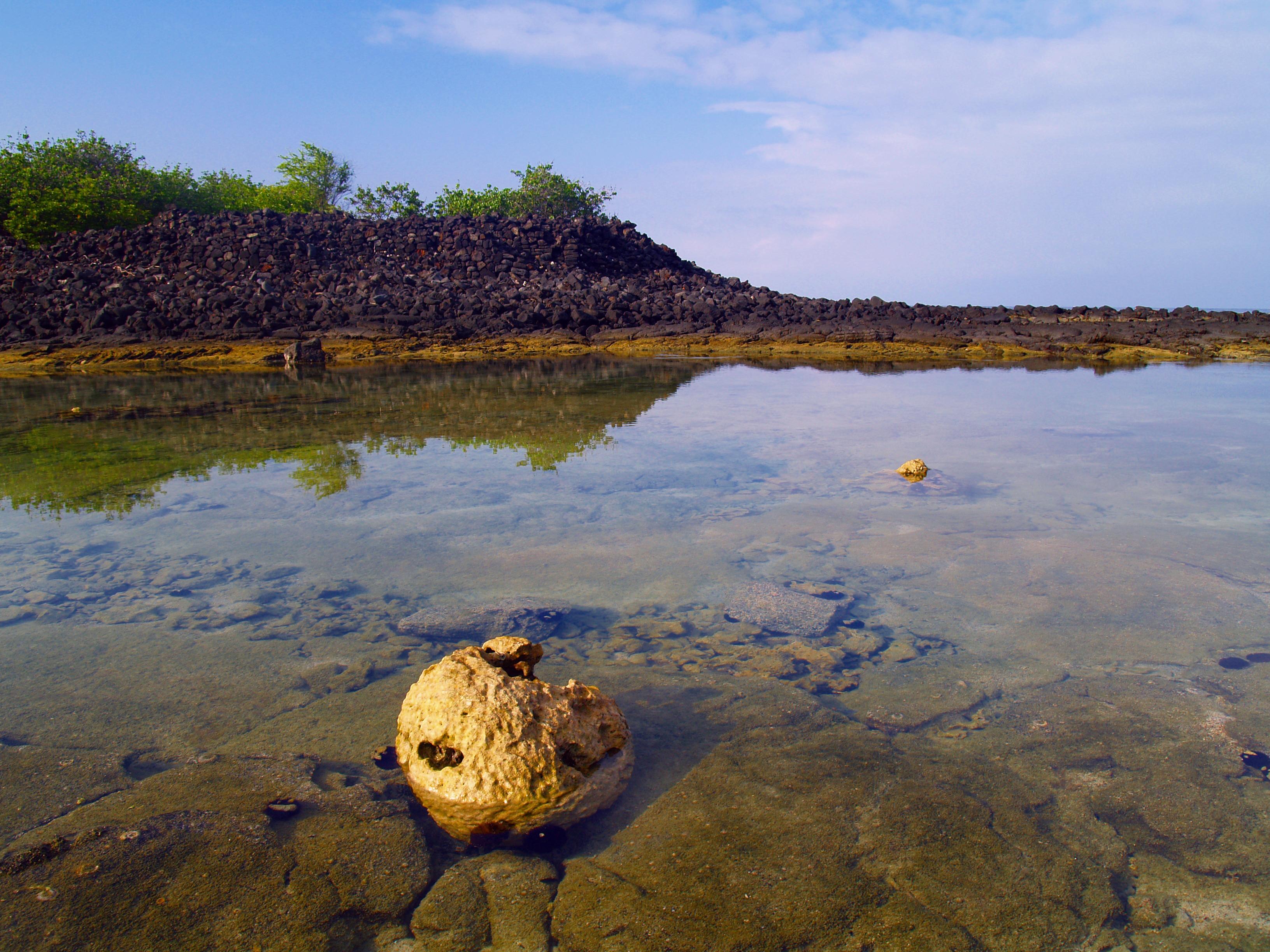 From Hapaialii Heiau to Keeku Heiau, Keauhou Historic District, Kona Hawaii: Photo by Donnie MacGowan