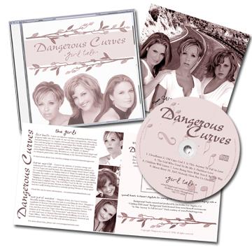 """Dangerous Curves """"Girl Talk"""" CD!"""