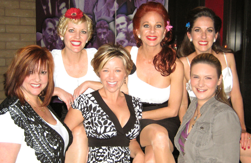 """""""Dangerous Curves"""" with the """"Dolls"""" after the show..."""