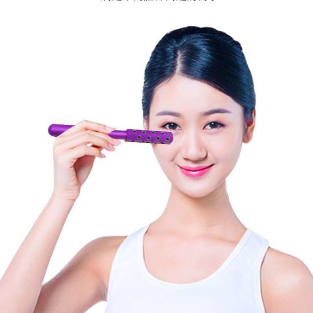 Face Massage Roller Germanium Stone Facial Skin Firming Uplifting Beauty Tool Face-lift Facial care tools