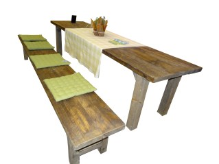 Gammalt plankbord