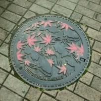 Sewer cover, Hiroshima