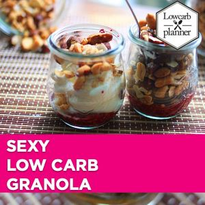 If you are a Fan of Granola, then you will love this wonderful Sugar-Free Treat. I call it sexy Granola, it's my healthified version, it's Gluten-Free, Sugar-Free and Low in Carbs. Definitely a must-try recipe.