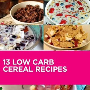 Do you love cereals? I definitely do! Since I am living low carb there are a ton of great and healthy recipes. Enjoy this Roundup.