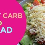 Healthyiest Taco Salad | LowCarb Lunch Quick 'n Yummy