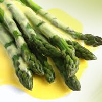 Hollandaise-asparagus