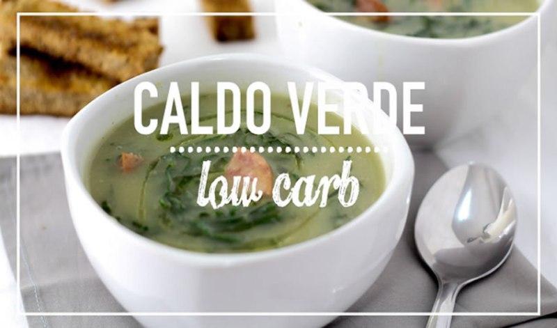 caldo verde low carb