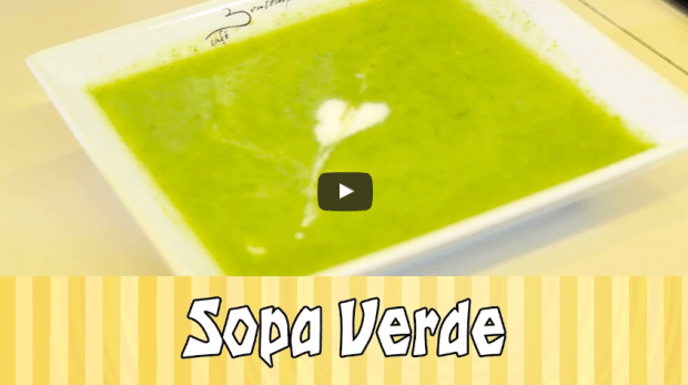 sopa low carb receita