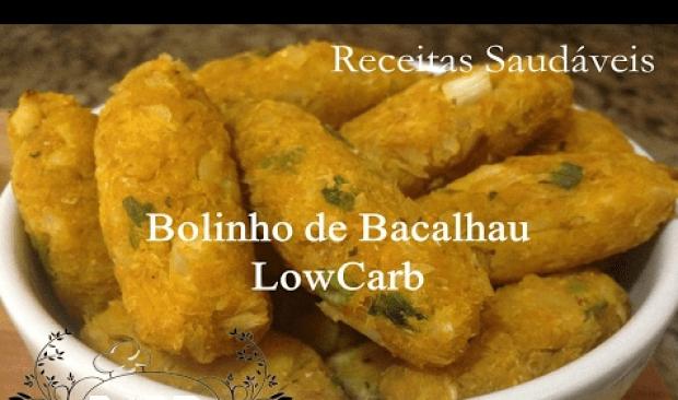 bolinho de bacalhau low carb