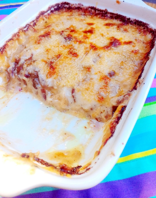 lasanha lowcarb receita