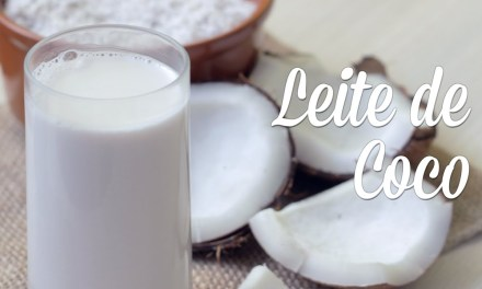 Leite de coco caseiro com apenas dois ingredientes