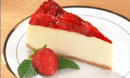 Receita de Cheesecake Low Carb de Morango