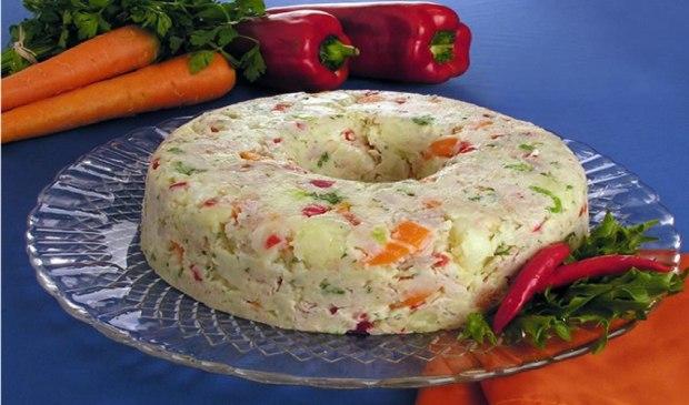 Salada de maionese low carb
