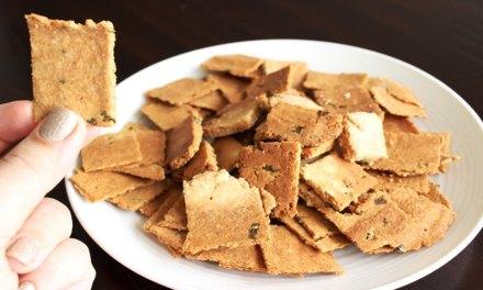Receita de Cream Cracker Low Carb