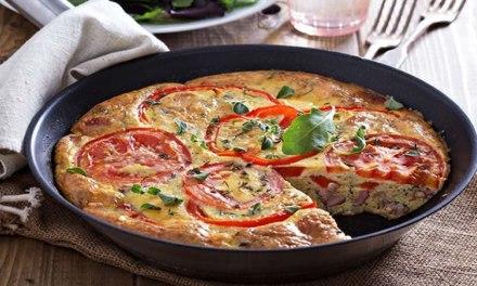 Receita de Omelete Low Carb No Forno