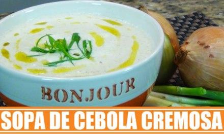Receita de Sopa de Cebola Low Carb