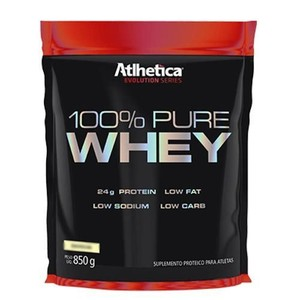 100% Pure Whey Protein Evolution Series Low Carb - 850g Chocolate - Atlhetica
