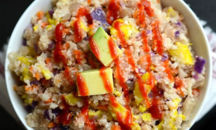 Receita Arroz Paleo Low Carb