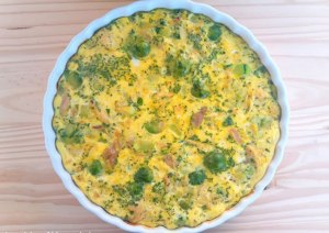 Receita Fritata Low Carb