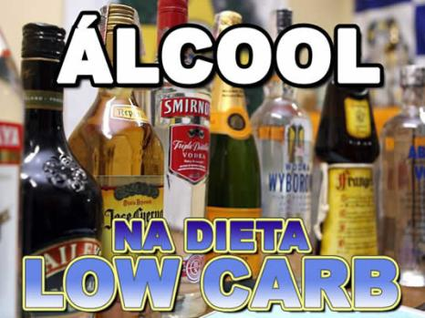 Álcool e dieta low carb