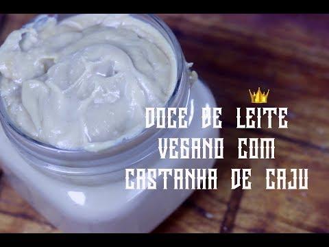 DOCE DE LEITE VEGANO COM CASTANHA DE CAJU
