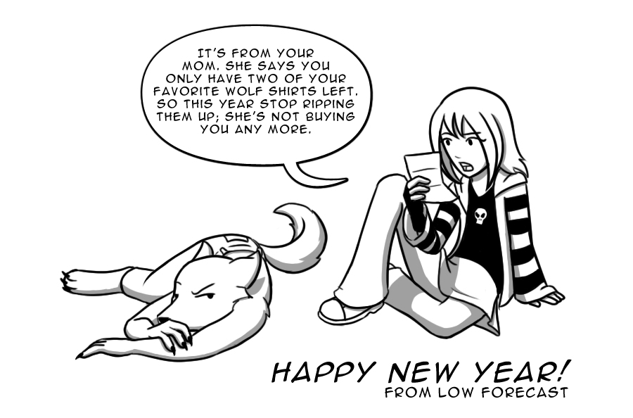 New Year's Sketch