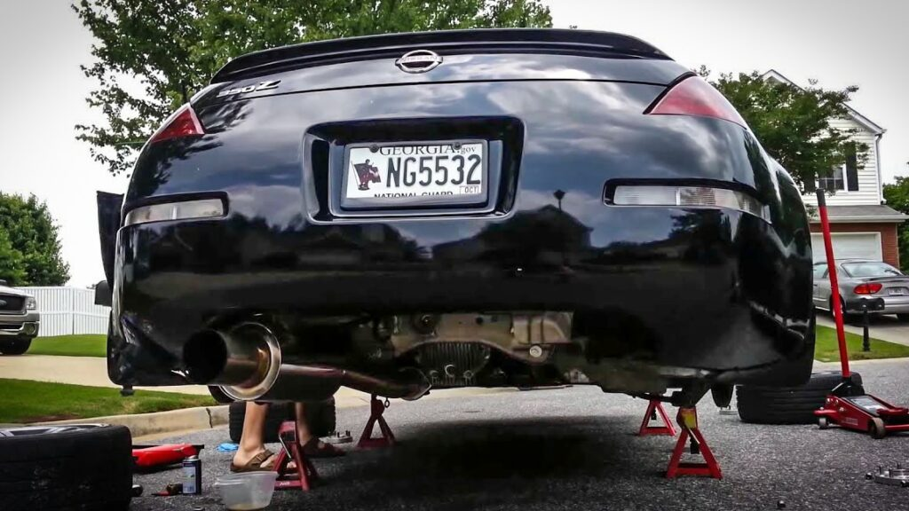your guide to the best 350z exhausts