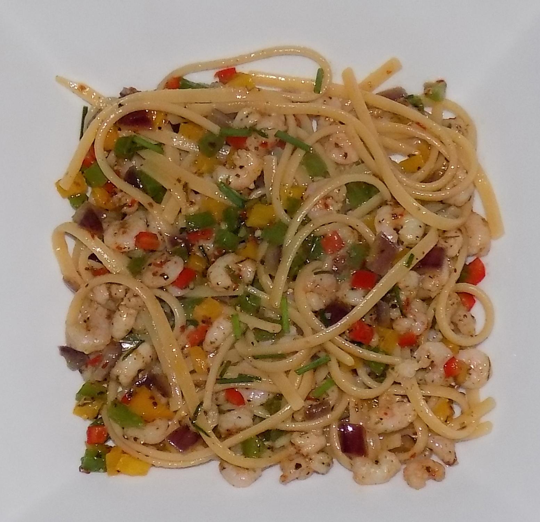 prawn chili linguine low calorie recipes