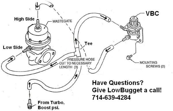 How To Install Manual Boost Controller On External Wastegate