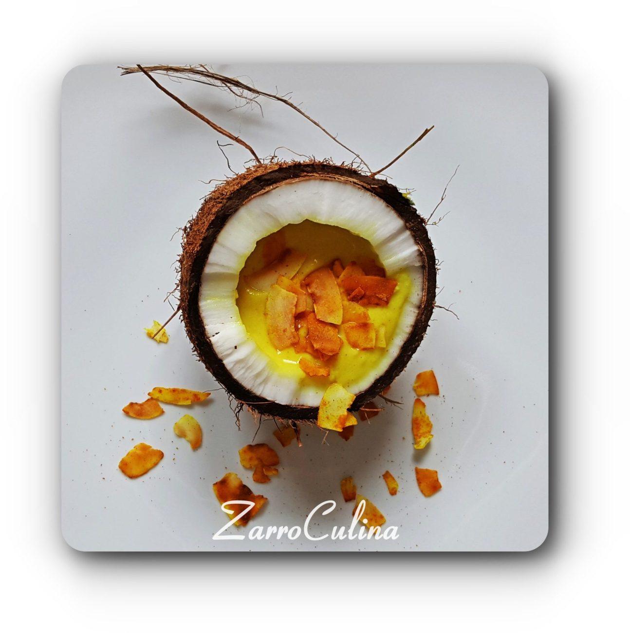 Kokos Blumenkohlsuppe mit Kurkuma