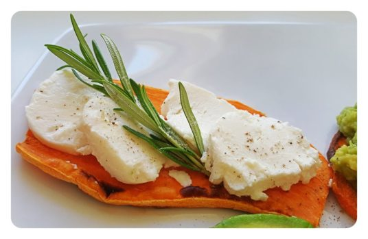 ♡ Kreativer Toast aus Süßkartoffel - gesund, glutenfrei & vegetarisch