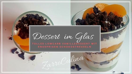 Dessert im Glas