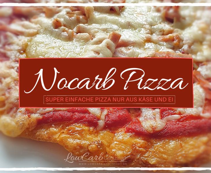 Titelbild - Rezept Nocarb-Pizza