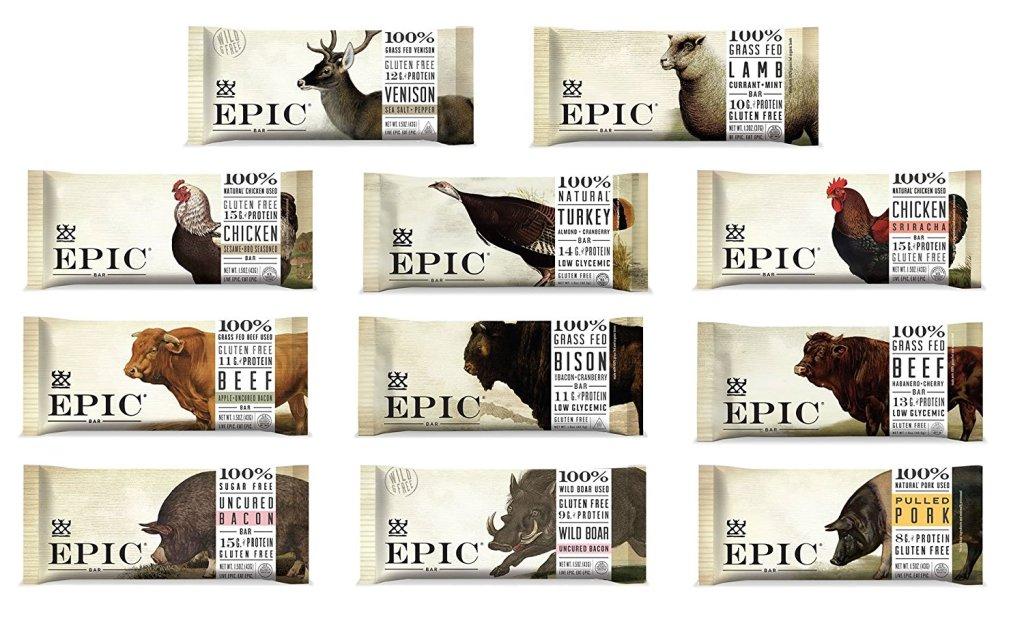 81UlWs6RocL. SL1500  - Epic Bar Variety Gift Box - 11 Pack