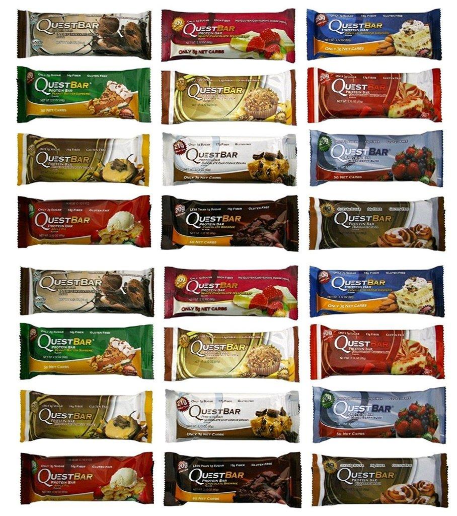 81D7VwH3W0L. SL1500  - Quest Bar Variety Bundle- 12 Pack (1 of Each)