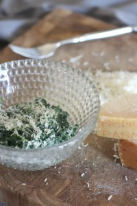 Garlic and Parmesan Creamed Spinach recipe. Low carb.
