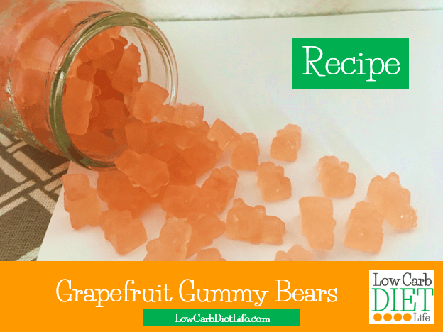 grapefruit gummy bears