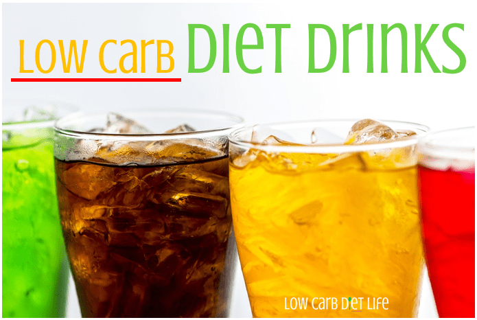 low carb diet drinks