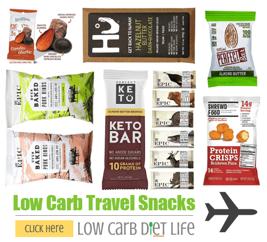 low carb travel snacks