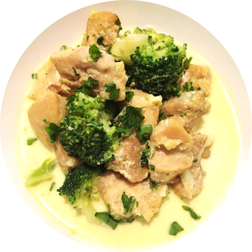 low carb chicken broccoli soup