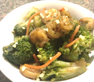 low carb chinese shrimp and broccoli recipe